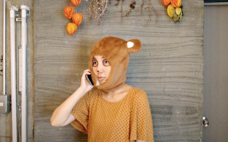 """『タヌキから電話がかかってくる』""""Chatting with a racoon dog"""""""